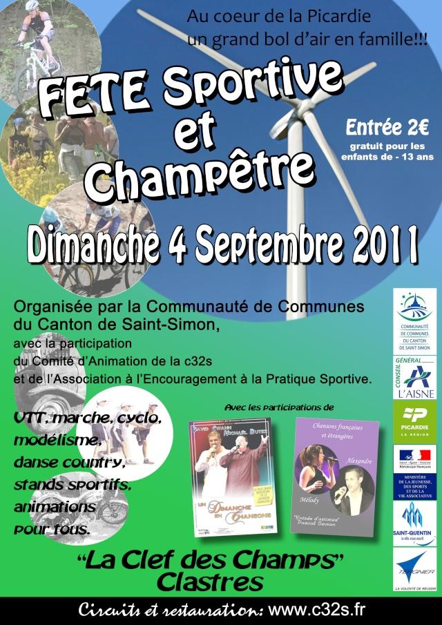 La fête du sport à Clastres 04/09/11 Clastr11