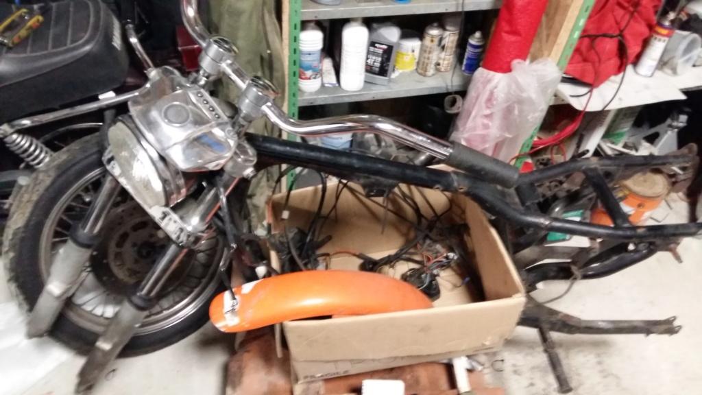Rénovation Sportster 1100 XL 1987 20190310
