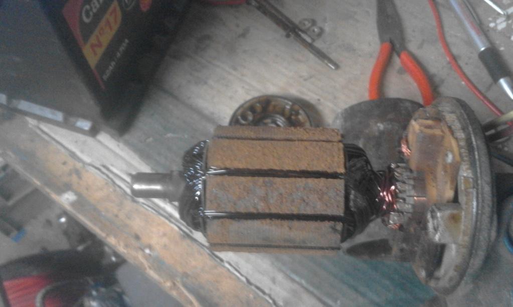demontage moteur changement de gamme et modif 20190310