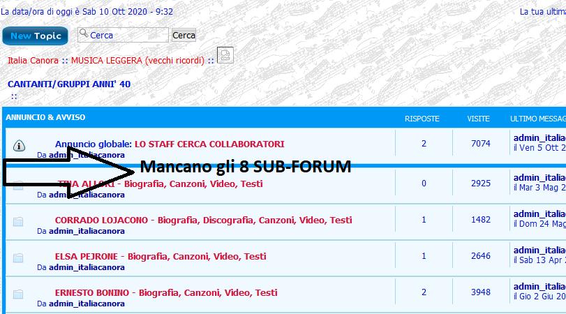 """Un forum è andato in """"tilt"""" per un'operazione errata da parte mia Sez_fo10"""