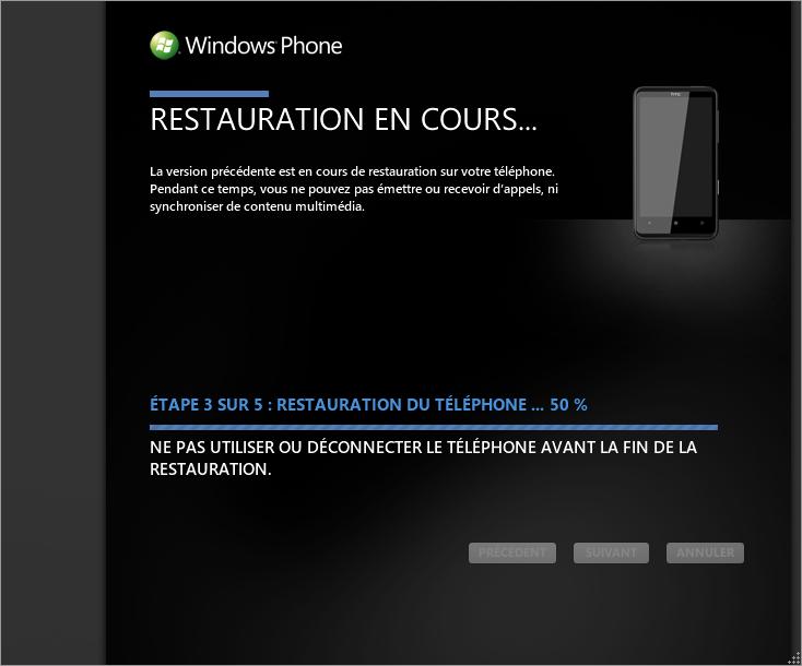 [TUTO] Faire une restauration après mise à jour sous Windows Phone 7 0810