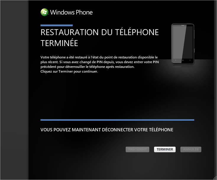 [TUTO] Faire une restauration après mise à jour sous Windows Phone 7 1110