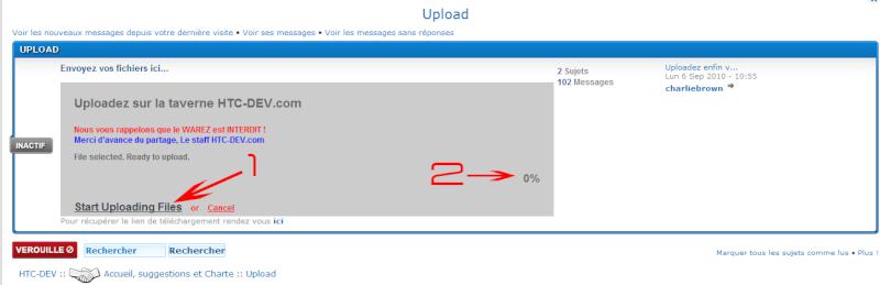 [TUTO] Comment uploader des fichiers? Sans-t11
