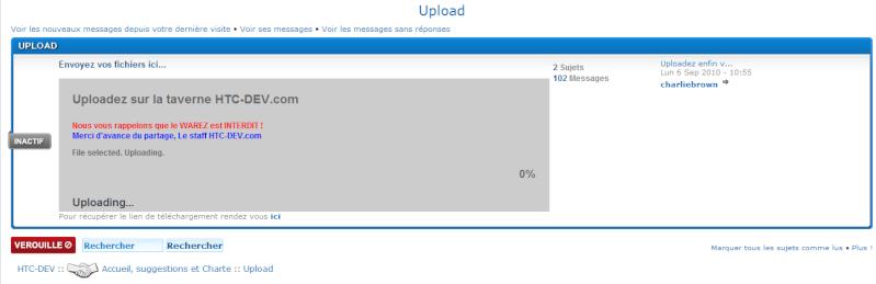 [TUTO] Comment uploader des fichiers? Sans-t14