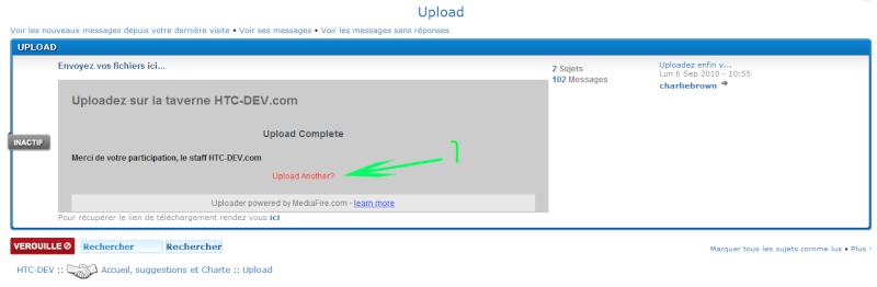 [TUTO] Comment uploader des fichiers? Sans-t17