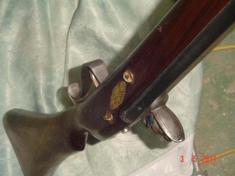 une restauration de fusil à mèche japonnais de 1678. Dsc00013