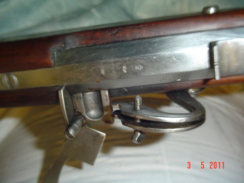 une restauration de fusil à mèche japonnais de 1678. Dsc00016