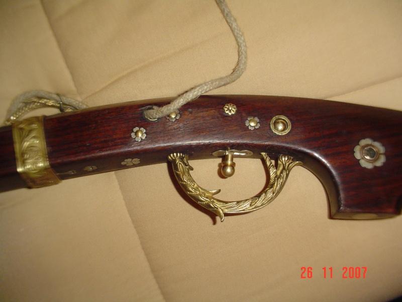 une restauration de fusil à mèche japonnais de 1678. Dsc01715