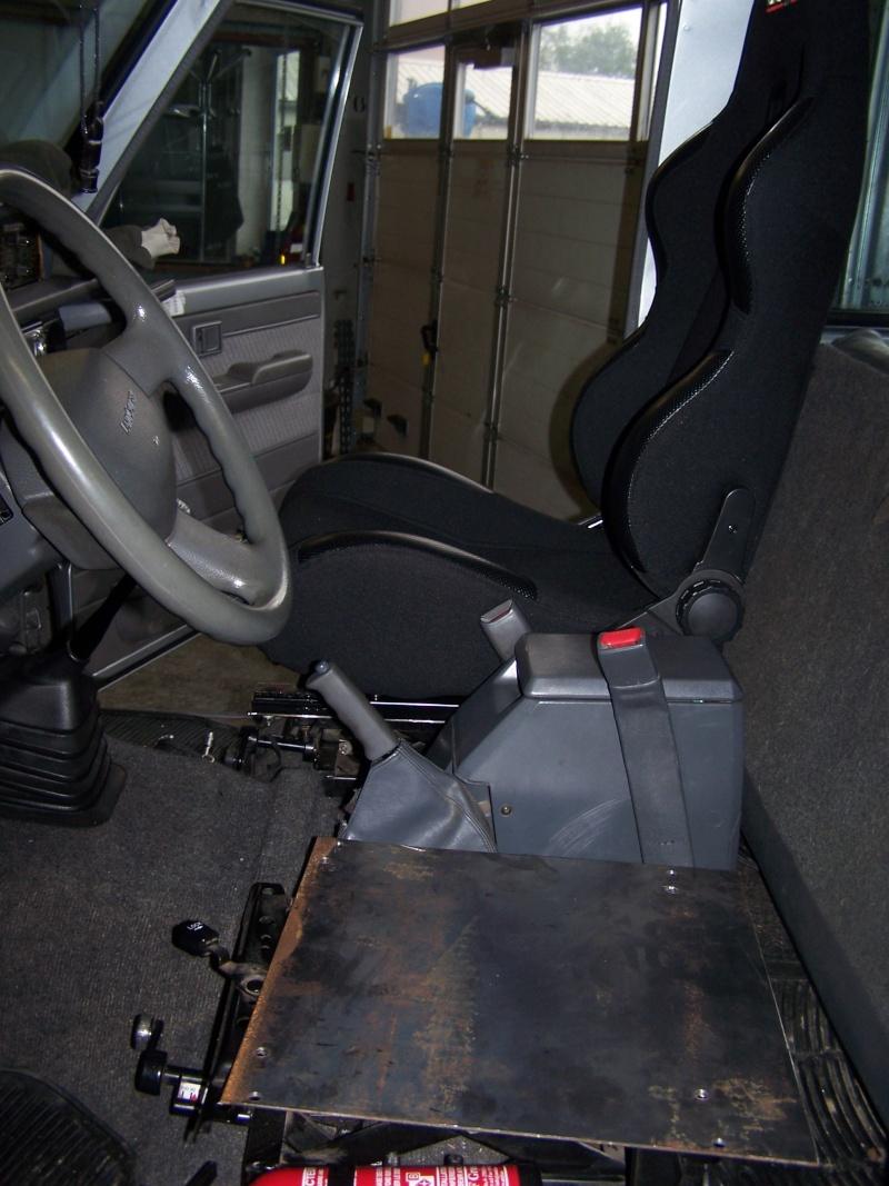 [Equipement] Installation de sièges semi bacquets sur KZJ70 100_2212