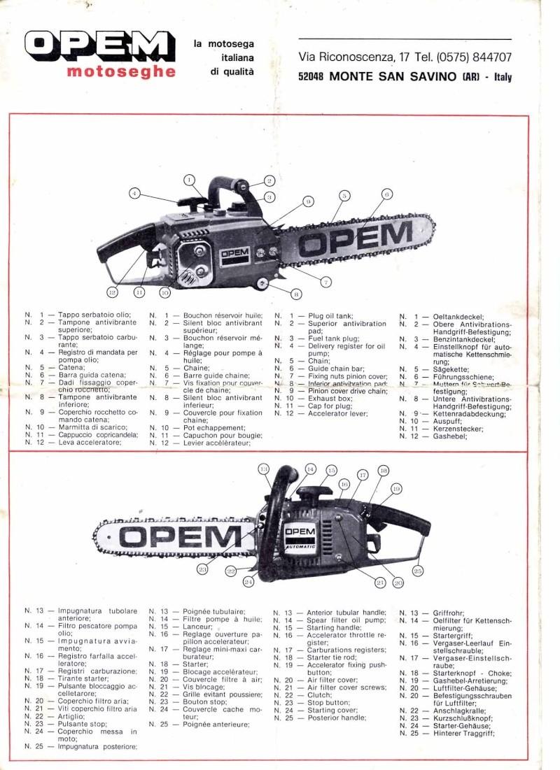 Opem 145 manuale di uso e manutenzione Pg110