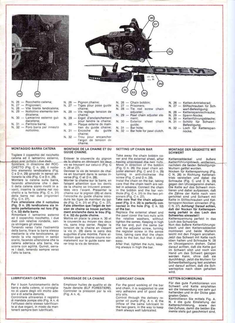 Opem 145 manuale di uso e manutenzione Pg210