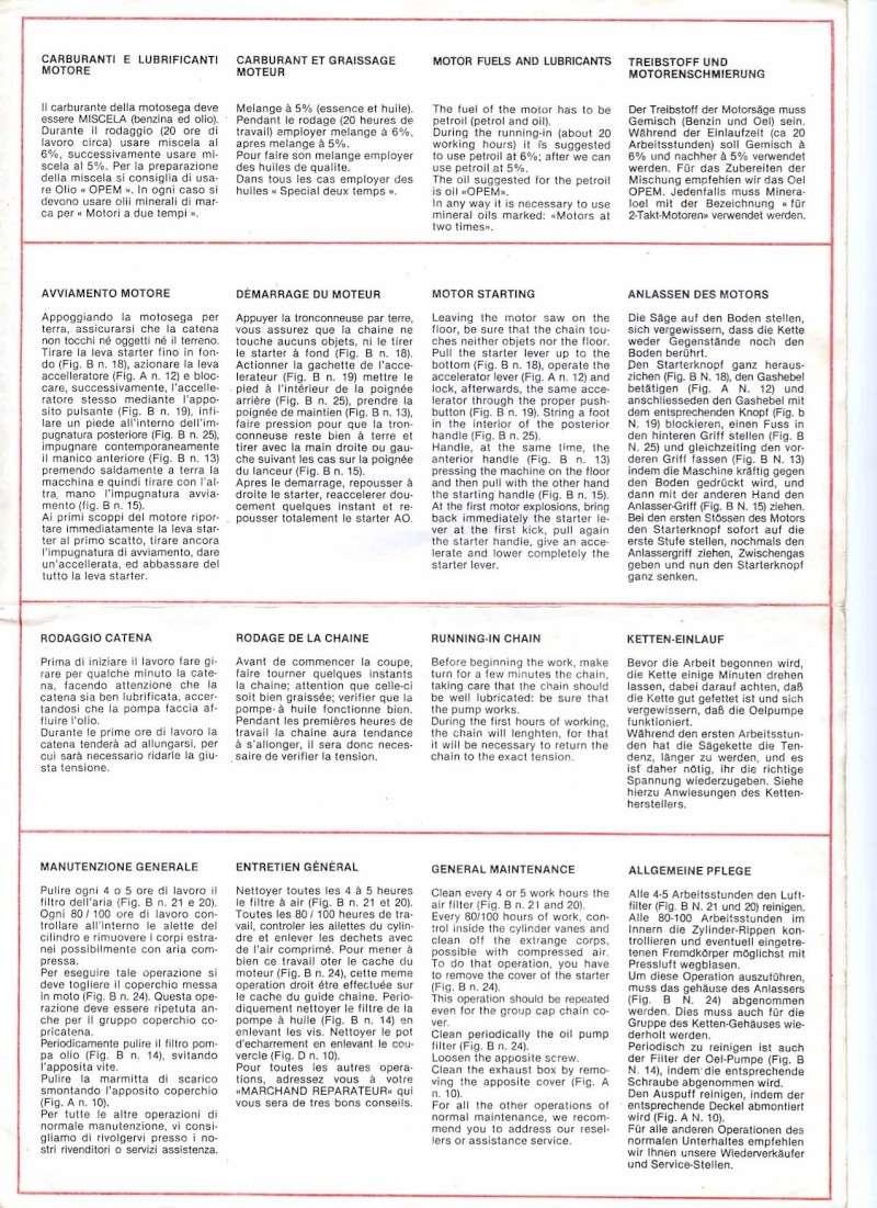 Opem 145 manuale di uso e manutenzione Pg310