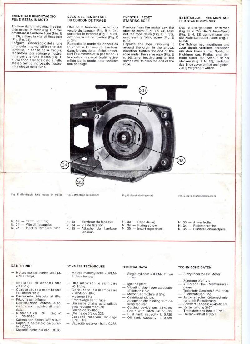 Opem 145 manuale di uso e manutenzione Pg410