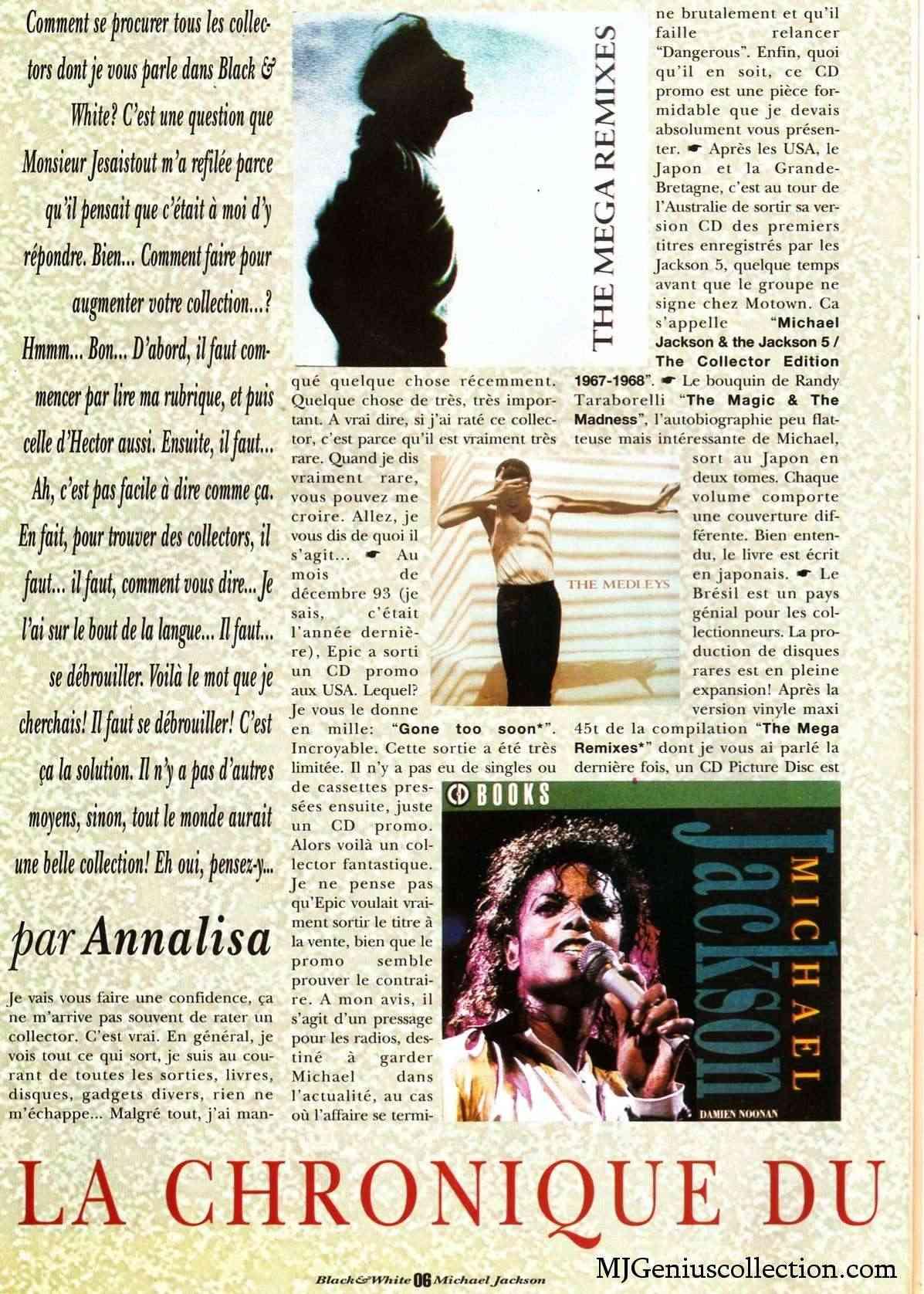Les rubriques collectors de Black & White Magazine Bw10_a10