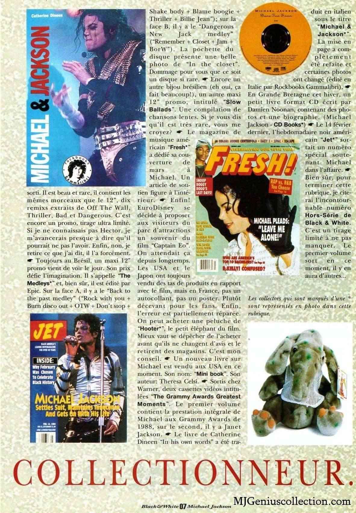 Les rubriques collectors de Black & White Magazine Bw10_a11