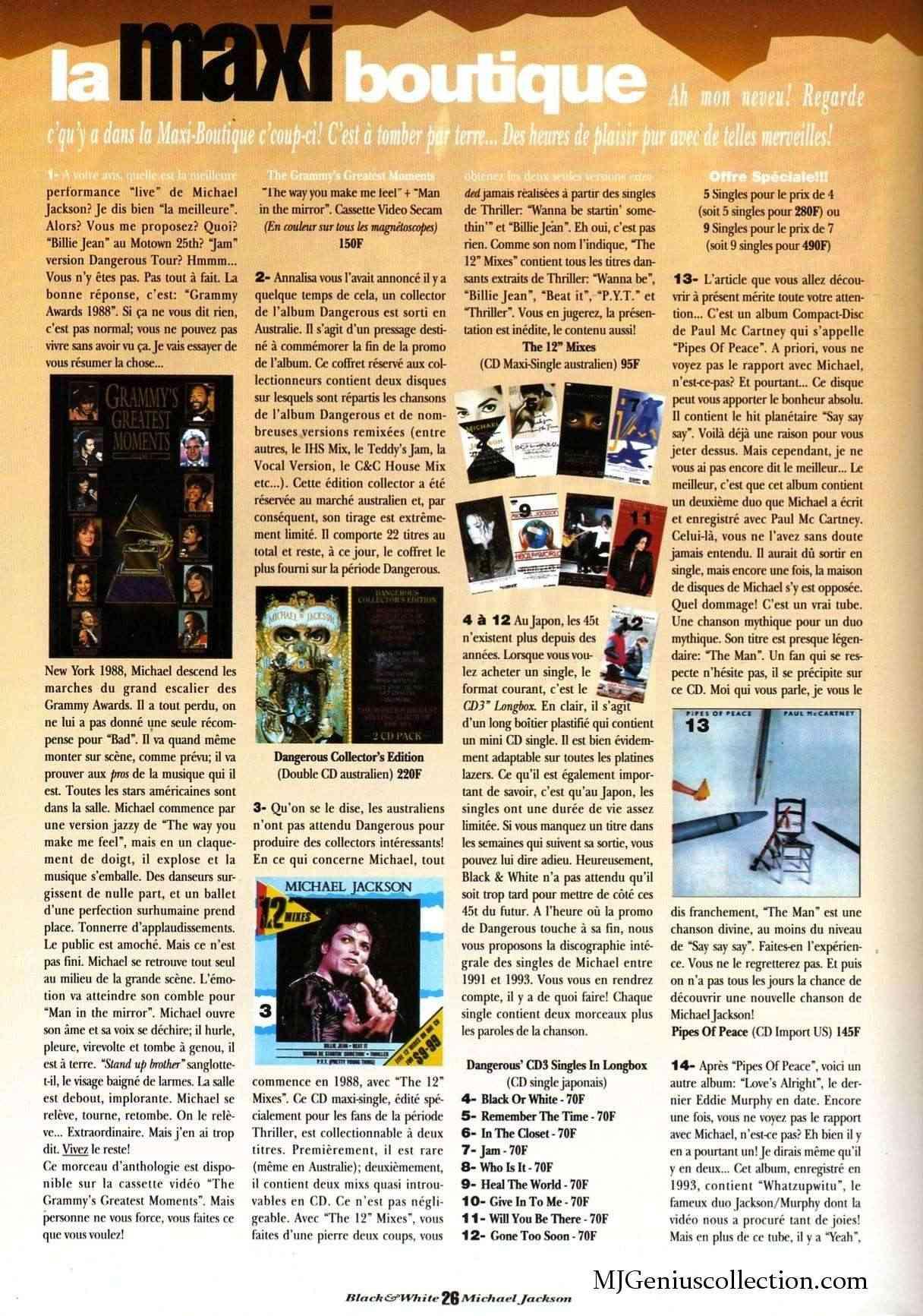 Les rubriques collectors de Black & White Magazine Bw10_m10