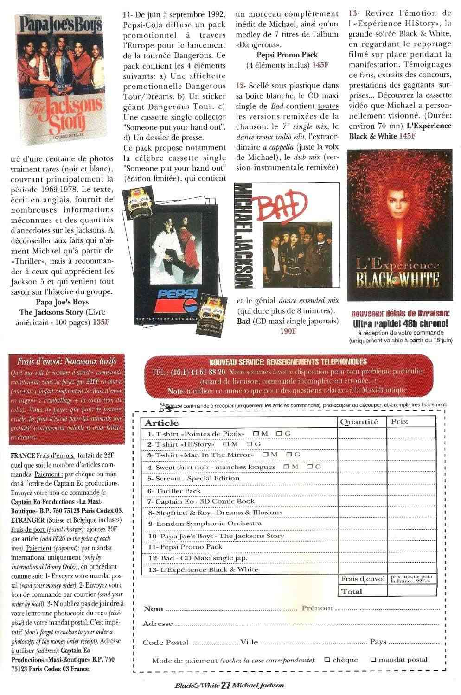 Les rubriques collectors de Black & White Magazine Bw14_m12