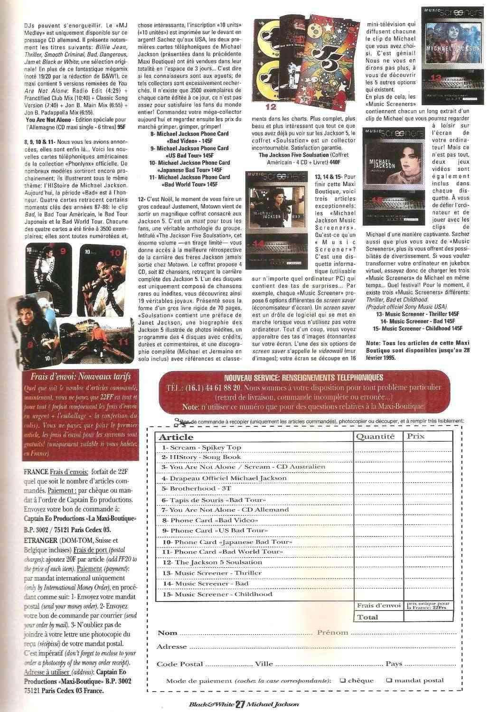 Les rubriques collectors de Black & White Magazine Bw16_m11