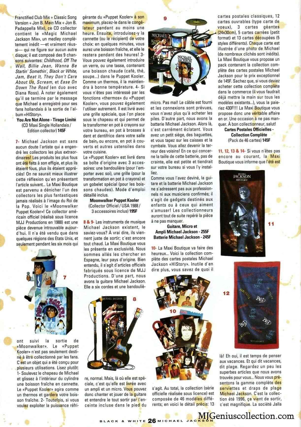 Les rubriques collectors de Black & White Magazine Bw18_m11
