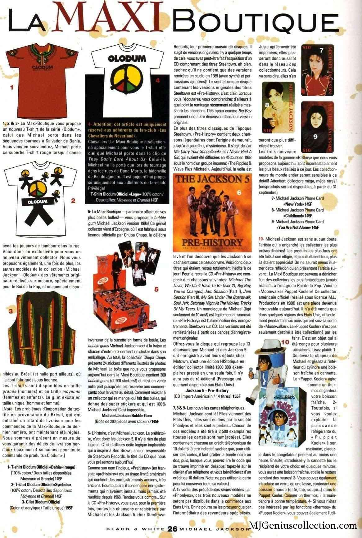 Les rubriques collectors de Black & White Magazine Bw19_m10
