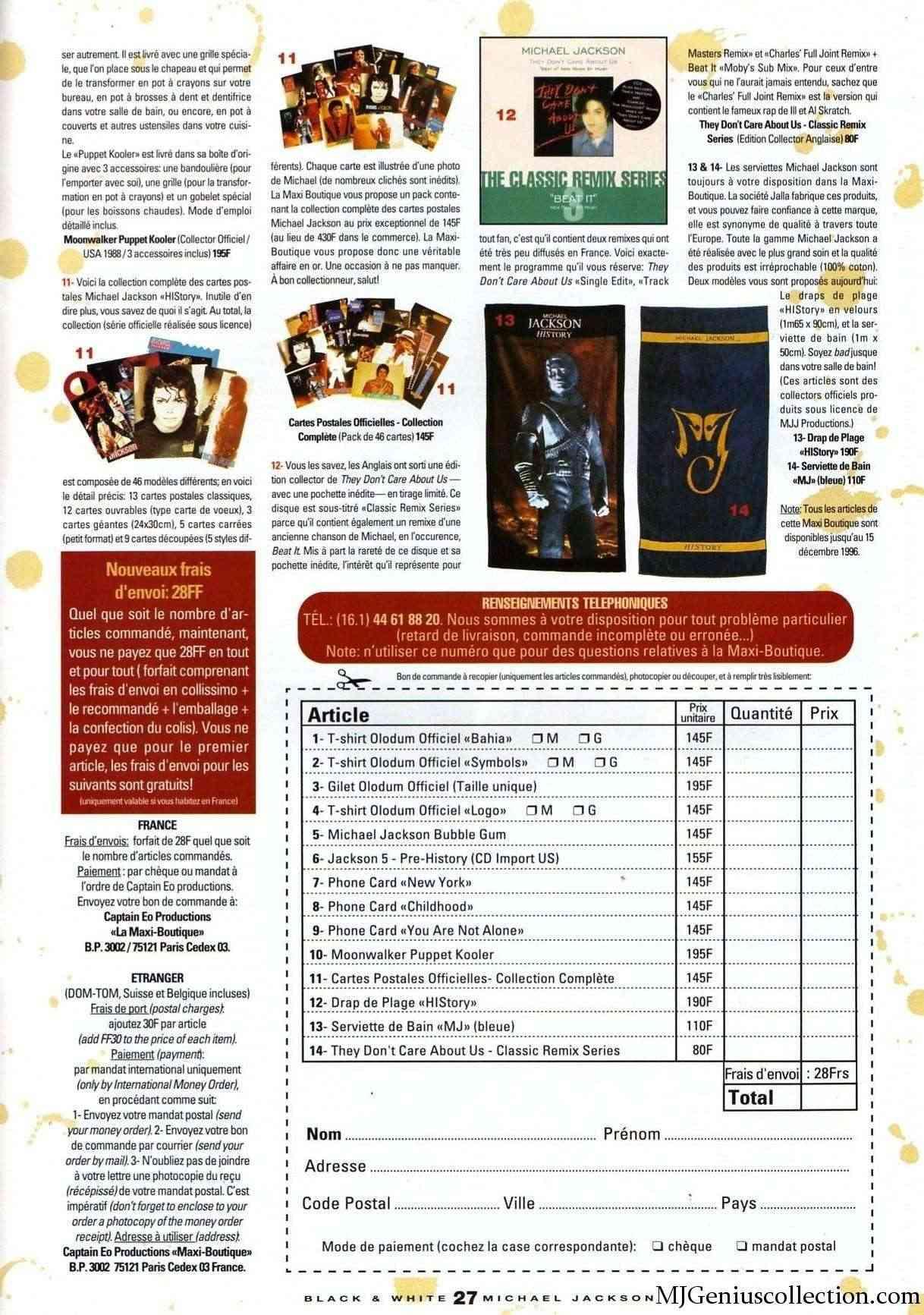Les rubriques collectors de Black & White Magazine Bw19_m11