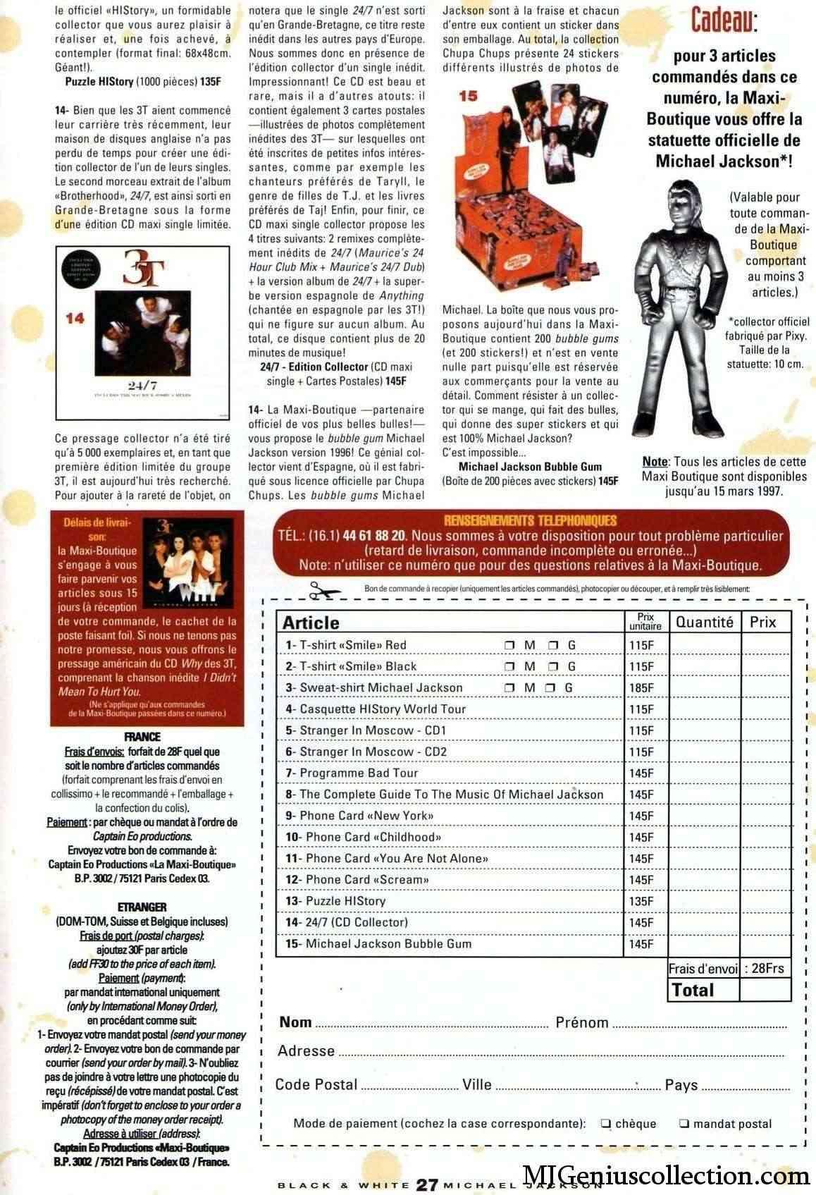 Les rubriques collectors de Black & White Magazine Bw20_m11