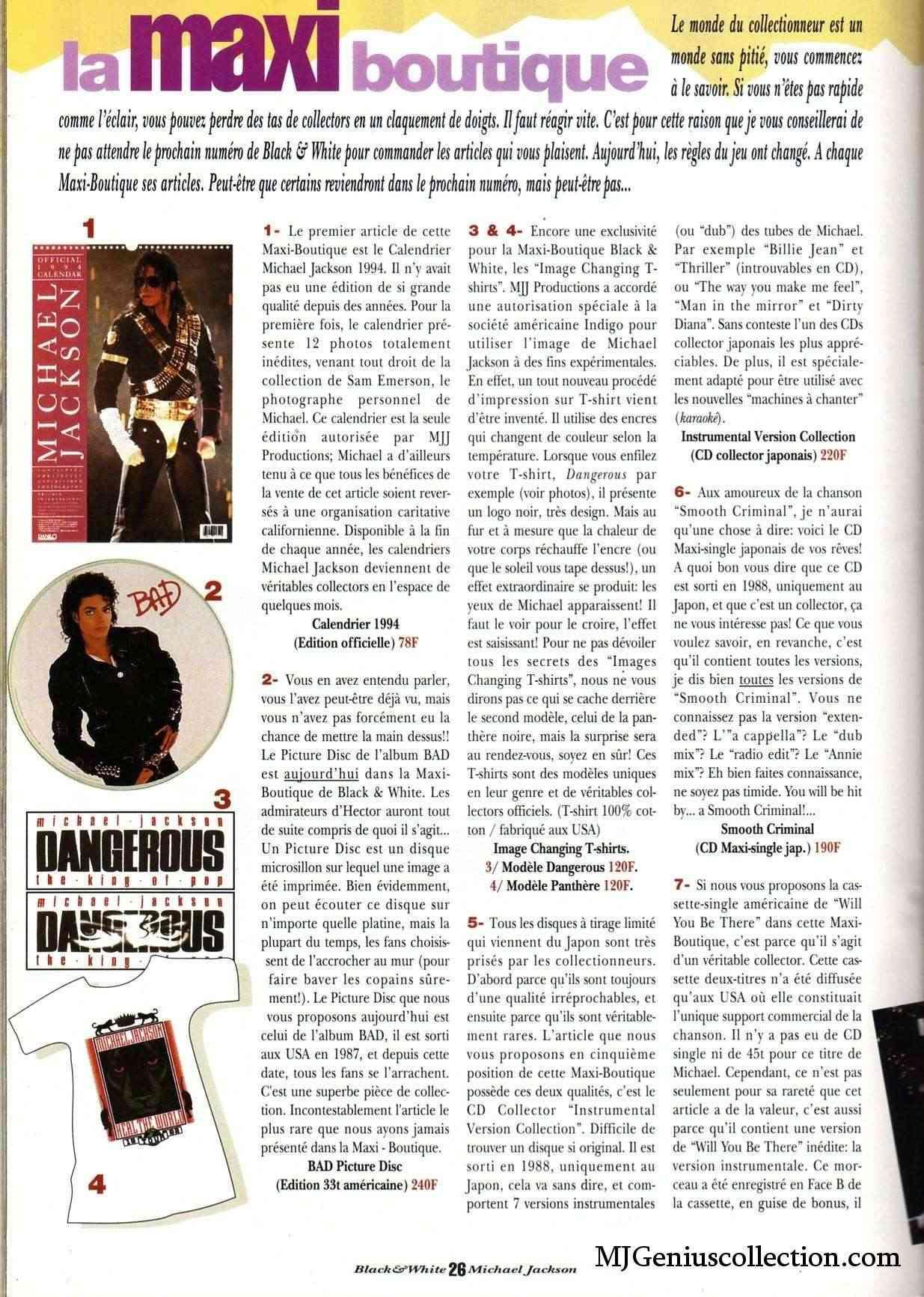 Les rubriques collectors de Black & White Magazine Bw8_ma10