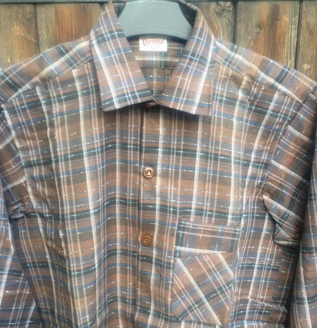 chemise civile chemise (militaire) année quarante ESC - MAR 1 Img_4812