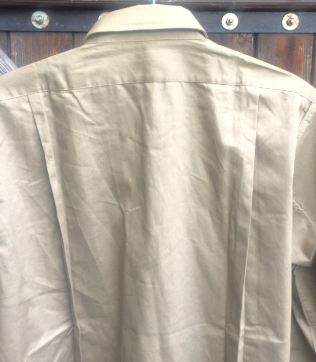 chemise civile chemise (militaire) année quarante ESC - MAR 1 Img_4815