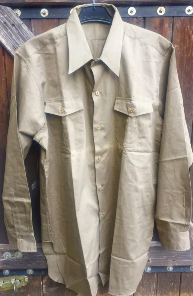 chemise civile chemise (militaire) année quarante ESC - MAR 1 Img_4816