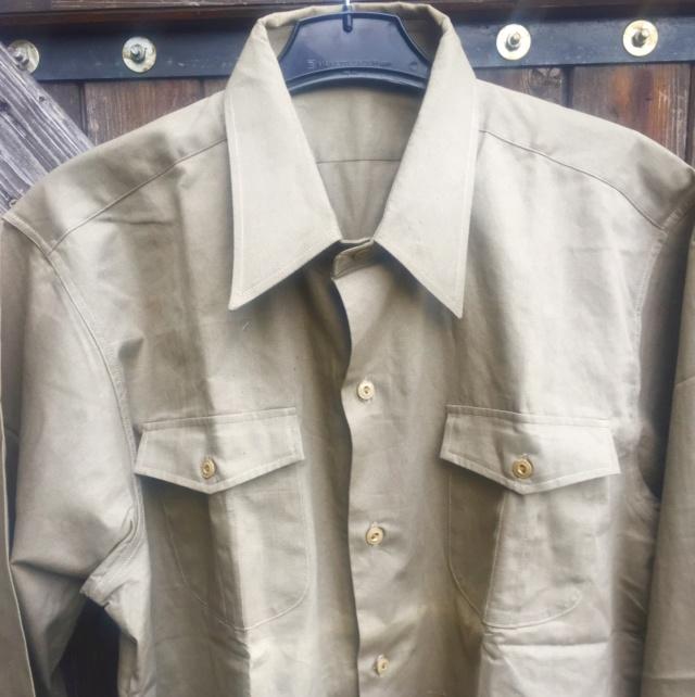 chemise civile chemise (militaire) année quarante ESC - MAR 1 Img_4817