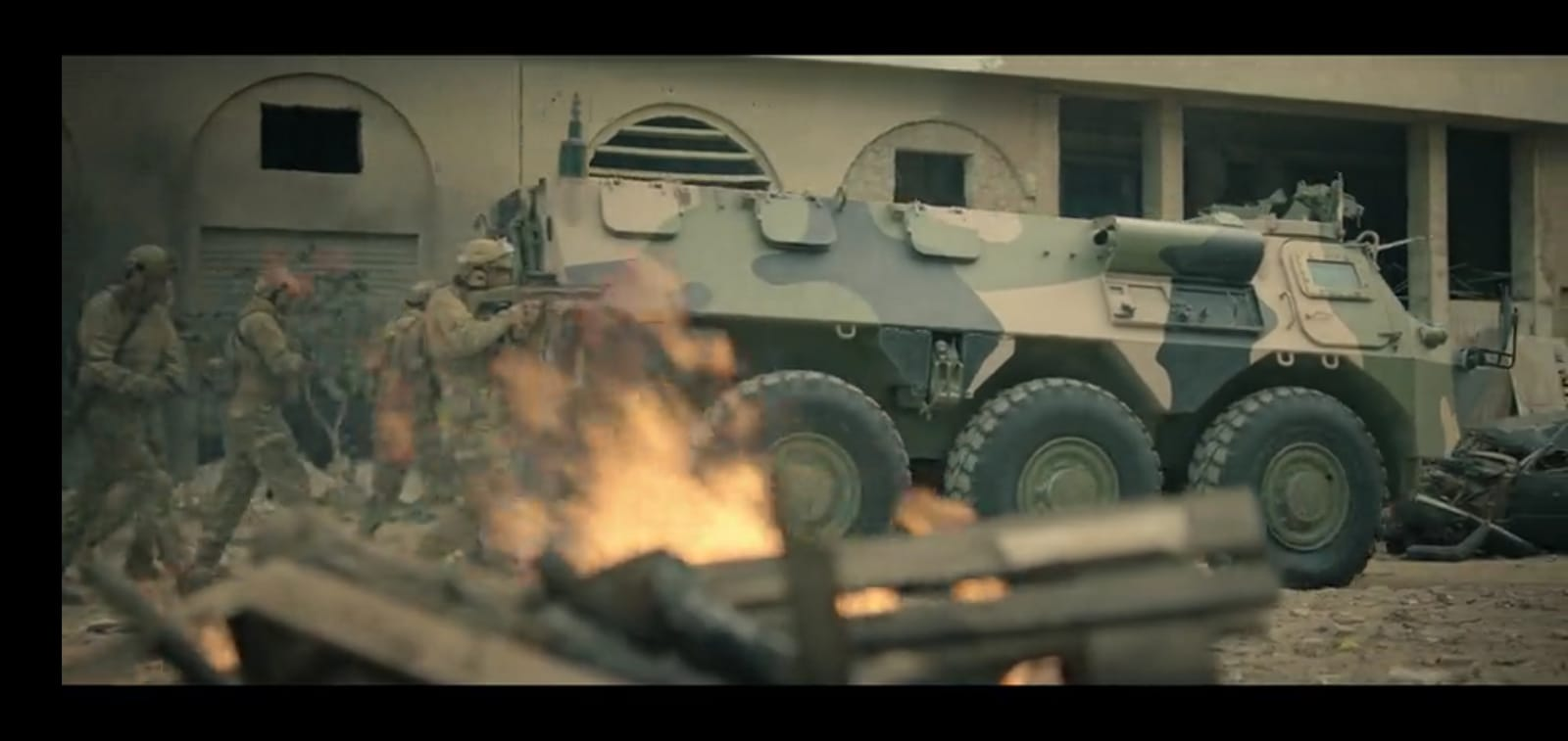 Les FAR et le Cinema / Moroccan Armed Forces in Movies - Page 11 410