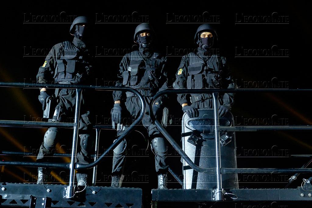 Moroccan Special Forces/Forces spéciales marocaines  :Videos et Photos : BCIJ, Gendarmerie Royale ,  - Page 16 Fete-p15