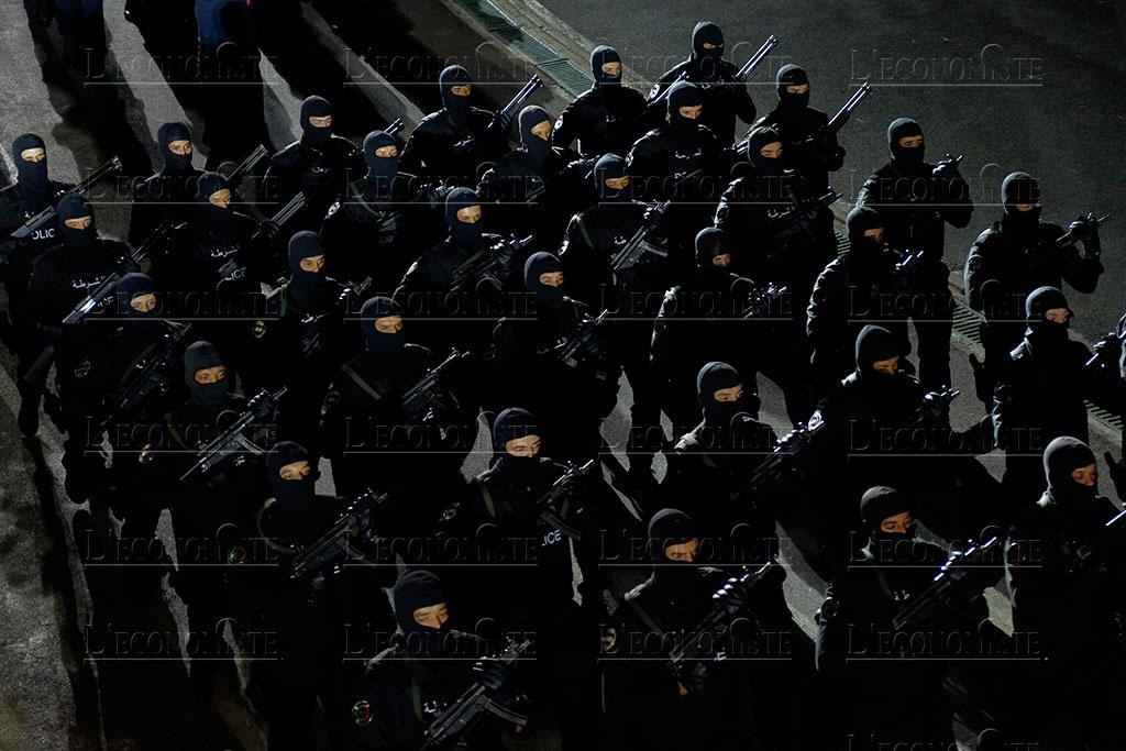 Moroccan Special Forces/Forces spéciales marocaines  :Videos et Photos : BCIJ, Gendarmerie Royale ,  - Page 16 Fete-p16