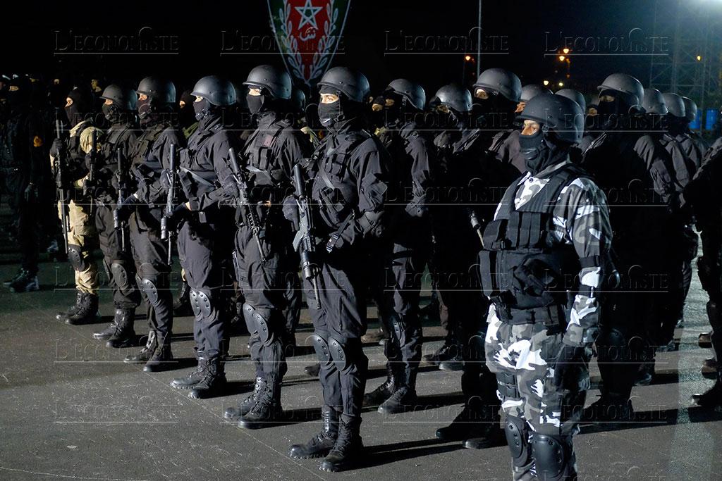 Moroccan Special Forces/Forces spéciales marocaines  :Videos et Photos : BCIJ, Gendarmerie Royale ,  - Page 16 Fete-p17