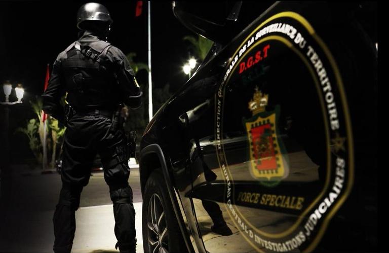 Moroccan Special Forces/Forces spéciales marocaines  :Videos et Photos : BCIJ, Gendarmerie Royale ,  - Page 15 Sans_t11