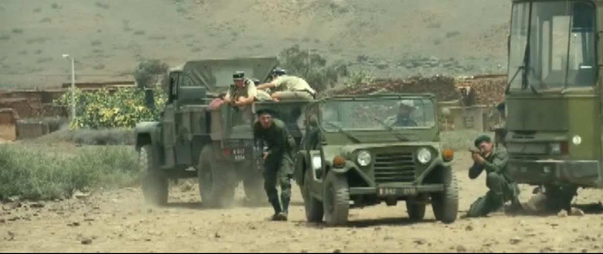 Les FAR et le Cinema / Moroccan Armed Forces in Movies - Page 10 Sans_t23
