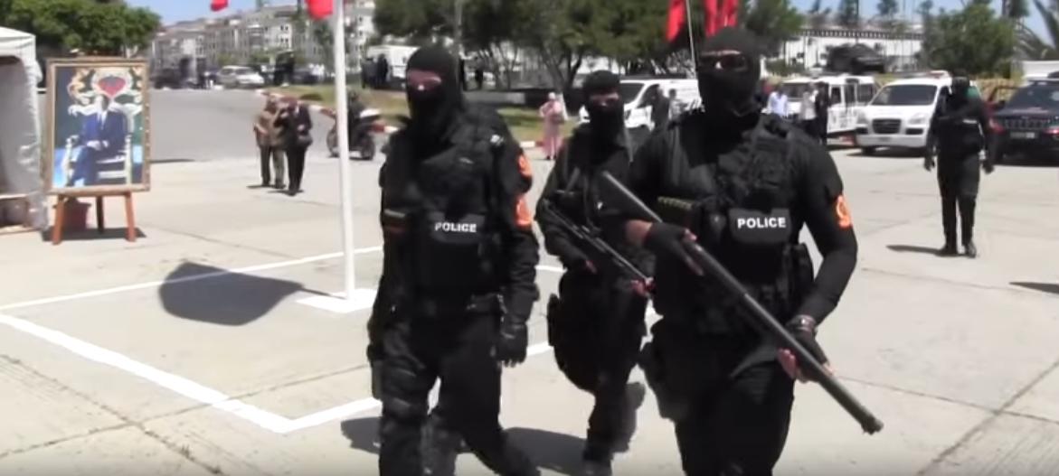 Moroccan Special Forces/Forces spéciales marocaines  :Videos et Photos : BCIJ, Gendarmerie Royale ,  - Page 16 Sans_t37