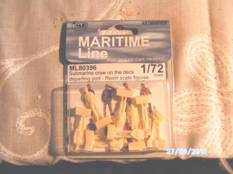 U-Boot Mannschaft, Resin / 1:72  FERTIG Pict0714