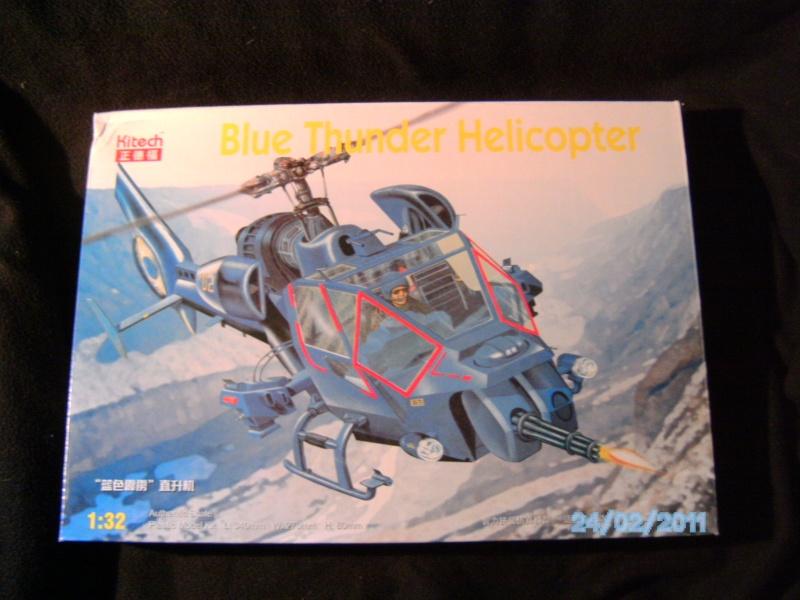 """Blue Thunder """"Das fliegende Auge"""" 1:32 von Kitech Pict2110"""