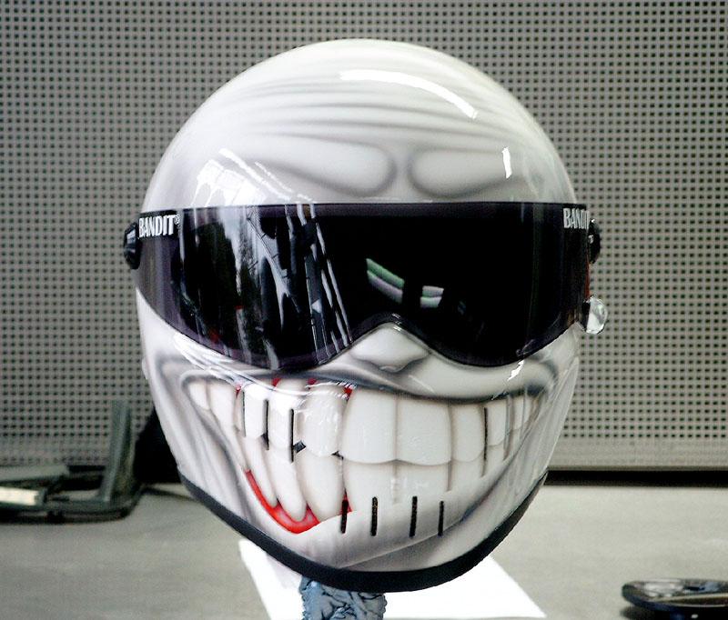 Casque Bandit helmets Grinse10