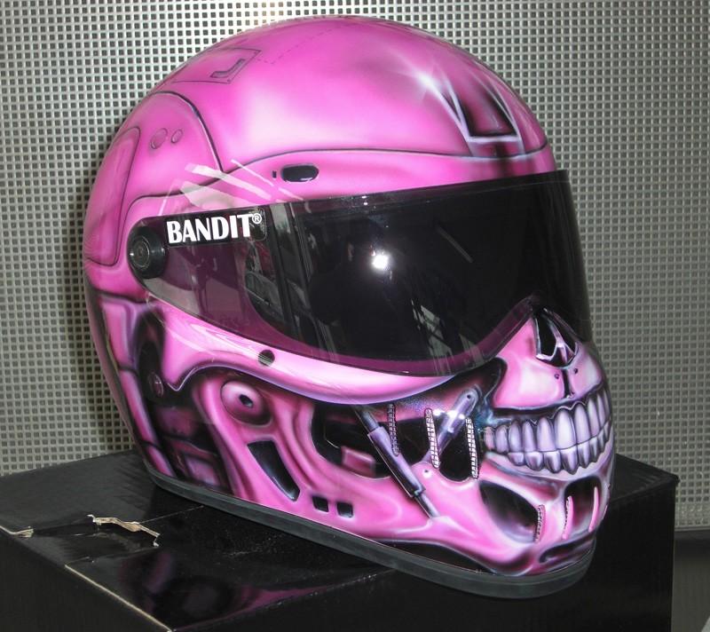 Casque Bandit helmets Pink_t10