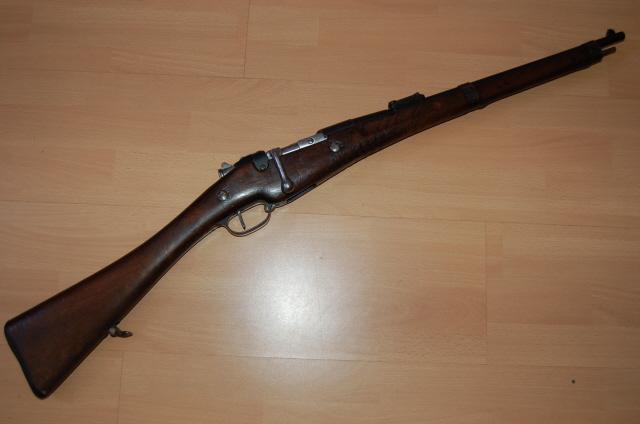 Carabine de cuirassier modèle 1890 Vue_ga10