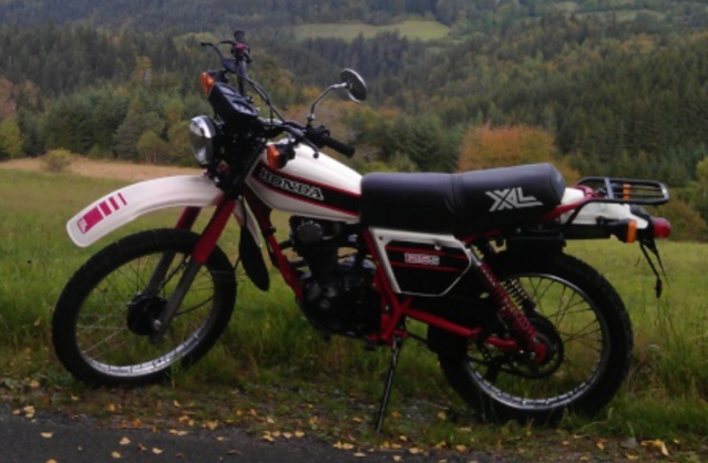 Evolution des :MONOCYLINDRES  HONDA 125  TRAIL Captur86