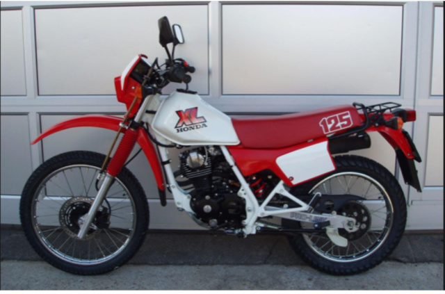 Evolution des :MONOCYLINDRES  HONDA 125  TRAIL Mp10
