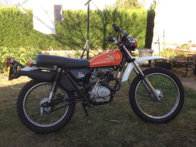 Honda 125 XL Silver10
