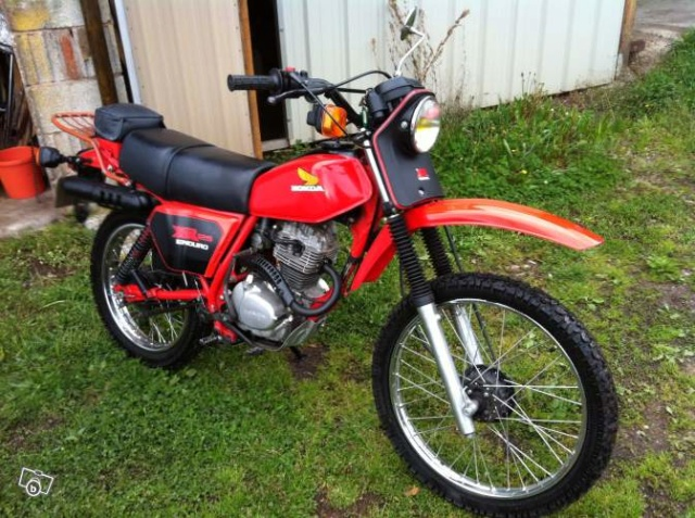 Evolution des :MONOCYLINDRES  HONDA 125  TRAIL Xr_8010