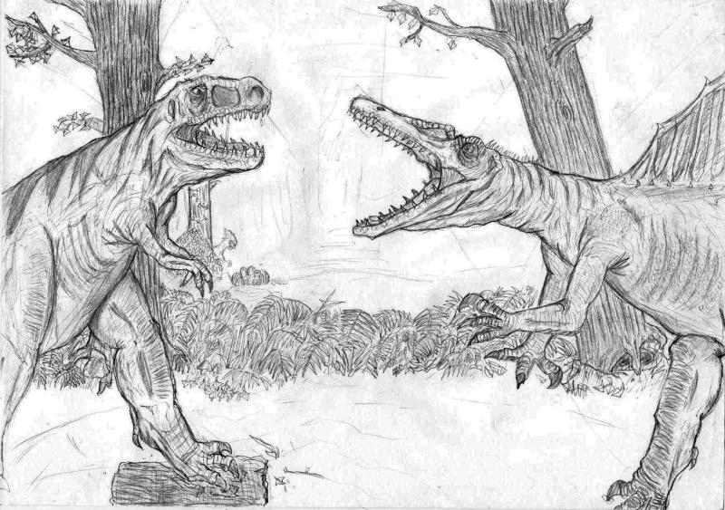 Dessins de Kizzu T-rex_11
