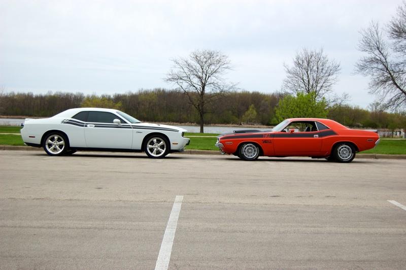 Old vs New Challenger 810
