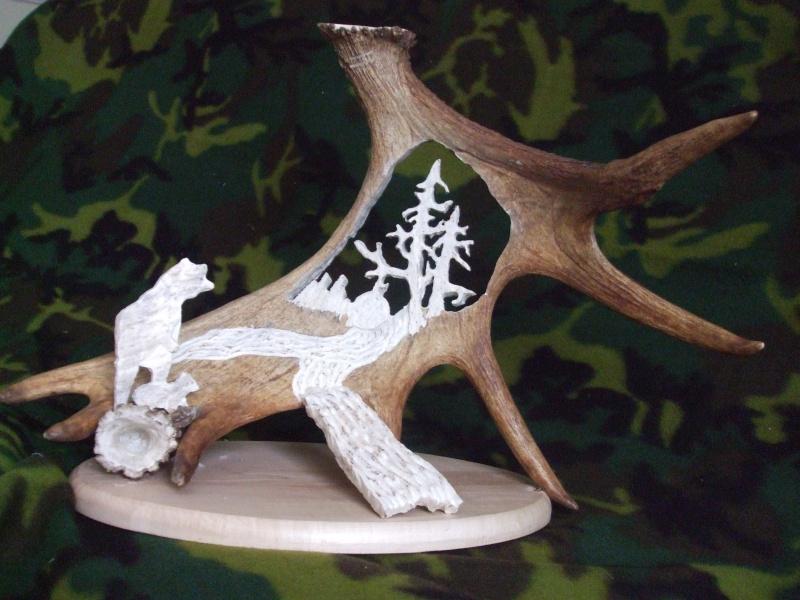 panache d'orignal sculpter (a voir ) Panach45